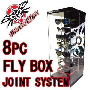 BLACKFLYS ブラックフライズ サングラスケース 8PC/8PC FLYBOX|surfer