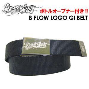 BLACKFLYS ブラックフライズ ベルト/B FLOW LOGO GI BELT|surfer