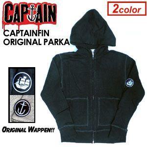 【あすつく対応】CAPTAIN FIN,キャプテンフィン,パーカー●CAPTAINFIN ORIGINAL ZIPPED PARKA|surfer