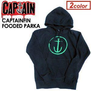 【あすつく対応】CAPTAIN FIN,キャプテンフィン,パーカー●CAPTAINFIN FOODED PARKA|surfer