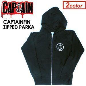 【あすつく対応】CAPTAIN FIN,キャプテンフィン,パーカー●CAPTAINFIN ZIPPED PARKA|surfer