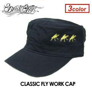 BLACKFLYS ブラックフライズ CAP ワークキャップ/CLASSIC FLY WORK CAP|surfer