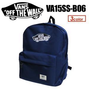 VANS バンズ バッグ バックパック/SK8 OTW Embroidderied Patch Basic Day bag VA15SS-B06|surfer
