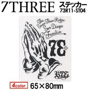 73R,セブンスリーアール,ステッカー●73R11ST04|surfer