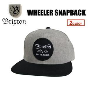 BRIXTON,ブリクストン,ハット,HAT,キャップ,CAP,帽子,17fa●WHEELER SNAPBACK|surfer