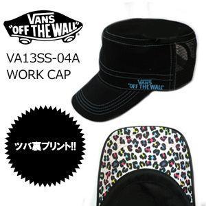 VANS バンズ ワークキャップ/VA13SS-04A|surfer