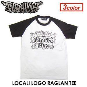 BLACKFLYS,ブラックフライズ,Tシャツ●LOCALI LOGO RAGLAN TEE|surfer