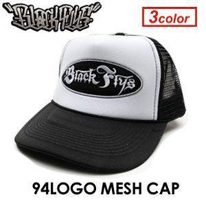 BLACKFLYS,ブラックフライズ,キャップ●94LOGO MESH CAP|surfer