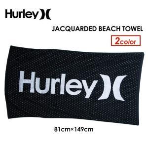 Hurley ハーレー ビーチタオル 大判 バスタオル/JACQUARDED BEACH TOWEL HIJ042|surfer