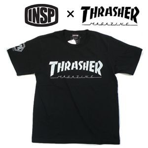 THRASHER,スラッシャー,INSP,インスピ,Tシャツ●TSIN-001M THRASHER コラボTEE|surfer