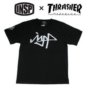 THRASHER,スラッシャー,INSP,インスピ,Tシャツ●TSIN-002M THRASHER コラボTEE|surfer