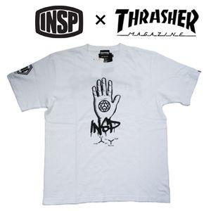 THRASHER,スラッシャー,INSP,インスピ,Tシャツ●TSIN-003M THRASHER コラボTEE|surfer