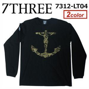 あすつく 73R セブンスリーアール Tシャツ ロンT/7312-LT04 surfer