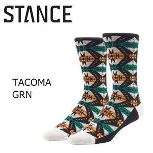 【あすつく対応】STANCE,スタンス, STANCE,SOCKS,ソックス,靴下●TACOMA-GRN|surfer