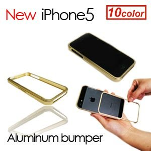 iPhone5 ケース アイフォン5 アルミバンパースライド式 衝撃/iPhone5ケース Aluminum Bumper|surfer