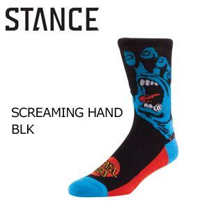 STANCE,スタンス,STANCE,SOCKS,ソックス,靴下●SCREAMING HAND BLK|surfer
