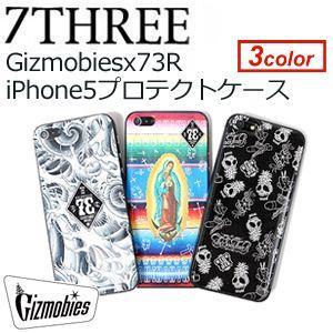 【あすつく対応】73R,セブンスリー,iPhone,携帯カバー,ブランド,iPhone4,iPhone5対応●Gizmobies x 73R iPhone5プロテクトケース|surfer