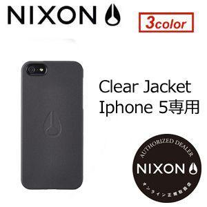 NIXON,ニクソン,iPhone,5,携帯カバー,iPhoneケース●NX IPHONE CASE 5G CLEAR JACKET iPhone5専用|surfer