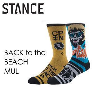 STANCE スタンス  STANCE SOCKS CAPTAINFIN キャプテンフィン ソックス 靴下/BACK to the BEACH-MUL surfer