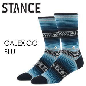 あすつく STANCE スタンス  STANCE SOCKS ソックス 靴下/CALEXICO-BLU surfer