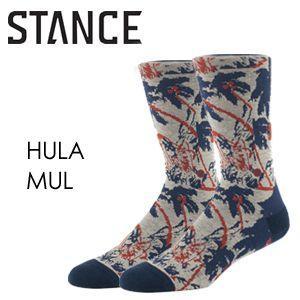 あすつく STANCE スタンス STANCE SOCKS ソックス 靴下/HULA-MUL surfer