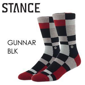 STANCE スタンス STANCE SOCKS ソックス 靴下/GUNNAR-BLK surfer