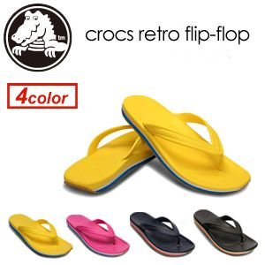 【あすつく対応】CROCS,クロックス,サンダル,sale●crocs retro flip-flop|surfer