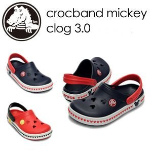 【あすつく対応】CROCS,クロックス,ミッキー,サンダル●crocband mickey clog 3.0|surfer