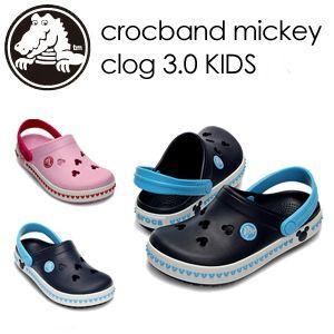 【あすつく対応】CROCS,クロックス,ミッキー,サンダル,sale●crocband mickey clog 3.0 Kids|surfer