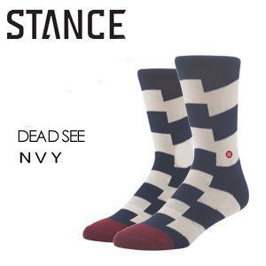 STANCE スタンス STANCE SOCKS ソックス 靴下/DEAD SEE-NVY surfer