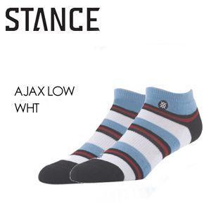 STANCE スタンス STANCE SOCKS ソックス 靴下/AJAX LOW-WHT surfer