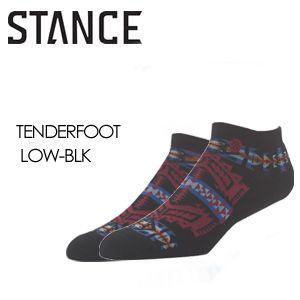 STANCE スタンス STANCE SOCKS ソックス 靴下/TENDERFOOT LOW-BLK surfer