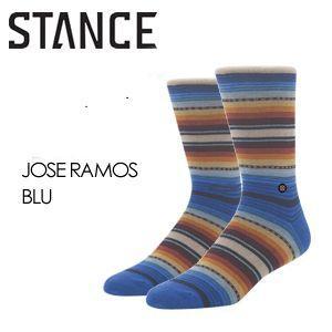 STANCE スタンス STANCE SOCKS ソックス 靴下/JOSE RAMOS-BLU surfer