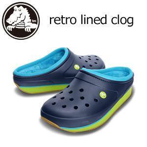 CROCS クロックス サンダル/crocs retro lined clog レトロ ラインド クロック|surfer