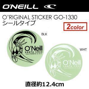 O'neill オニール ステッカー/O'neill O'RIGINAL Sticker シールタイプ 12cm GO-1330|surfer