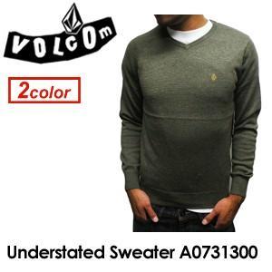 Volcom,ボルコム,長袖,ニット,セーター,インナー●Understated Sweater A0731300|surfer