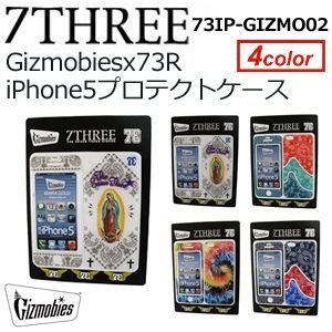 【あすつく対応】73R,セブンスリー,iPhone,携帯カバー,ブランド,iPhone5,iPhone5s対応,sale●73IP-GIZMO02 Gizmobies x 73R iPhone5プロテクトケース|surfer