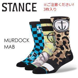 STANCE,スタンス,STANCE,SOCKS,ソックス,靴下●MURDOCK-MAB|surfer