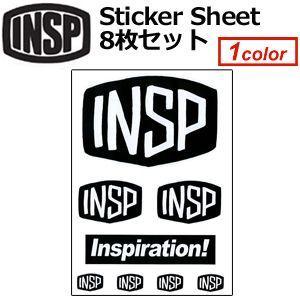 INSP,インスピ,ステッカー●2014 NEW Sticker Sheet ステッカーシート 8枚セット|surfer