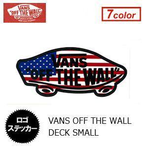 あすつく VANS バンズ ステッカー/VANS OFF THE WALL DECK SMALL VANS005|surfer