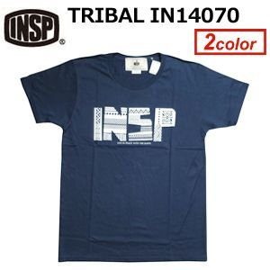 INSP インスピ Tシャツ 14ss/TRIBAL IN14070|surfer