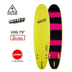 【送料無料】ODYSEA,オディシー,ファンボード,CATCHSURF,キャッチサーフ,ソフトボード●LOG 7.0 Try-fin|surfer