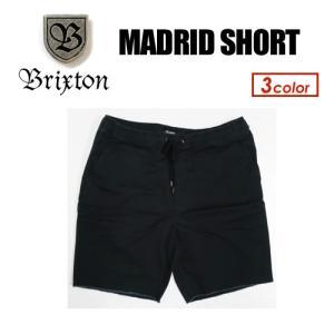 BRIXTON ブリクストン ショーツ ストレッチ ワーク 15sp/MADRID SHORT|surfer