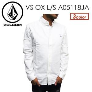 Volcom,ボルコム,オックスフォード,シャツ,18ss●VS OX L/S A05118JA surfer