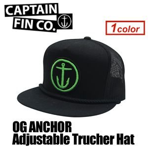 CAPTAINFIN,キャプテンフィン,メッシュ,キャップ,CAP●OG ANCHOR Adjustable Trucher Hat|surfer