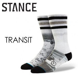 STANCE,スタンス, STANCE,SOCKS,ソックス,靴下,14ho●TRANSIT-WHT|surfer