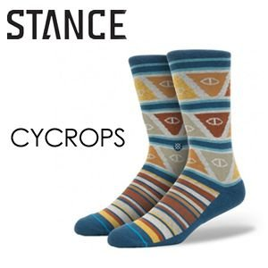 STANCE,スタンス, STANCE,SOCKS,ソックス,靴下,14ho●CYCROPS-BLU|surfer