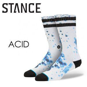 STANCE,スタンス, STANCE,SOCKS,ソックス,靴下,14ho●ACID-WHT|surfer