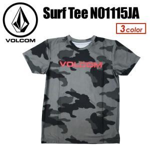 Volcom,ボルコム,メンズ,ラッシュガード,紫外線対策,半袖,15sp,sale●VLCM surf Tee N01115JA|surfer