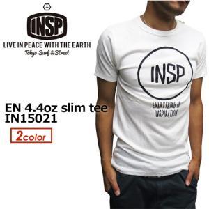 INSP,インスピ,Tシャツ,半袖,15ss●EN 4.4oz slim tee IN15021|surfer